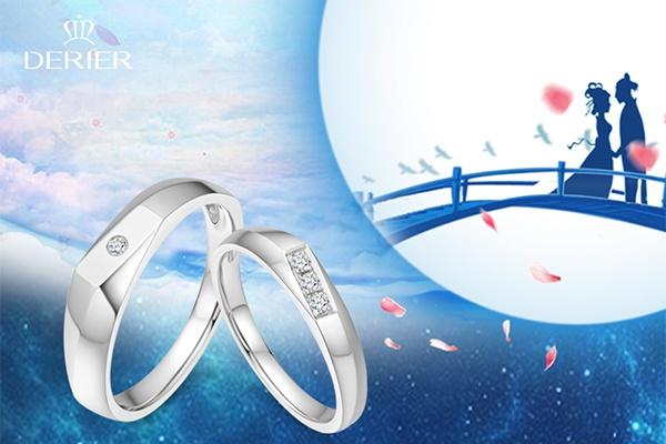 结婚时都佩戴最美的钻戒 可是玫瑰金戒指和白金戒指哪个好呢