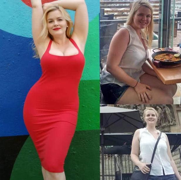 女子坚持健身5年,减肥后体重200斤,胖的身材也很美!