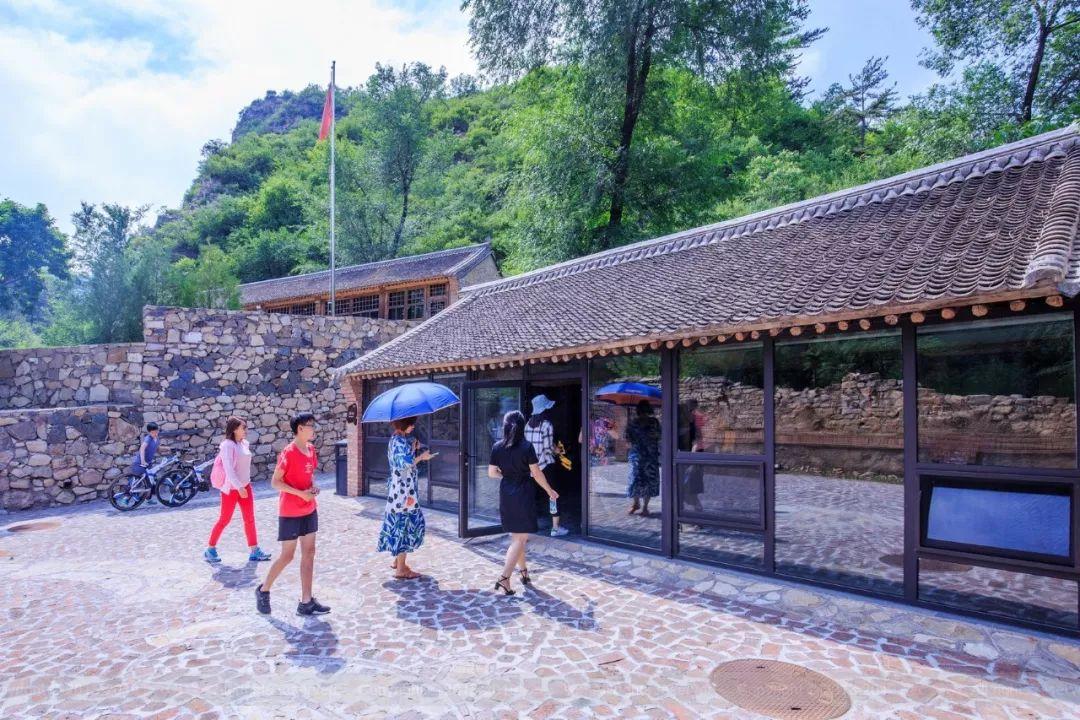 当北京被热浪包围的时候 我躲在百里乡居 享受20多度的惬意