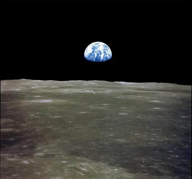 军事资讯_阿波罗登月是真是假?NASA公布地球从月球升起照片,证据确凿 ...